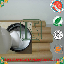 China manufacture water based white acrylic adhesive glue for paper pipe