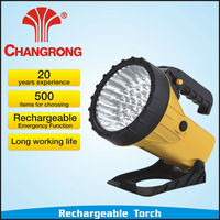 43LED High Power Long Beam Rechargeable Portable Torch/Flashlighting