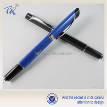 Alibaba Buy Now Promotional Metal Triangle Roller Ball Pen