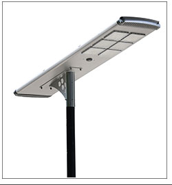 Anern led solar street light with outdoor cctv camera