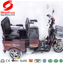 tricycle parts new design electric tricycle double usage passengers or goods tricycle electrical bike for adult elder people