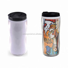 Custom Logo Print Wholesale Sublimation Blank Tea Plastic Tumbler