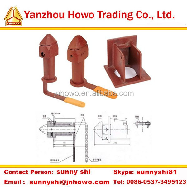 Supply trailer spare parts Container Twist Lock for containers