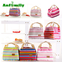 Portable Insulated Thermal Cooler Waxed Canvas Lunch Box Carry Tote Picnic Case Storage Bag refrigerator