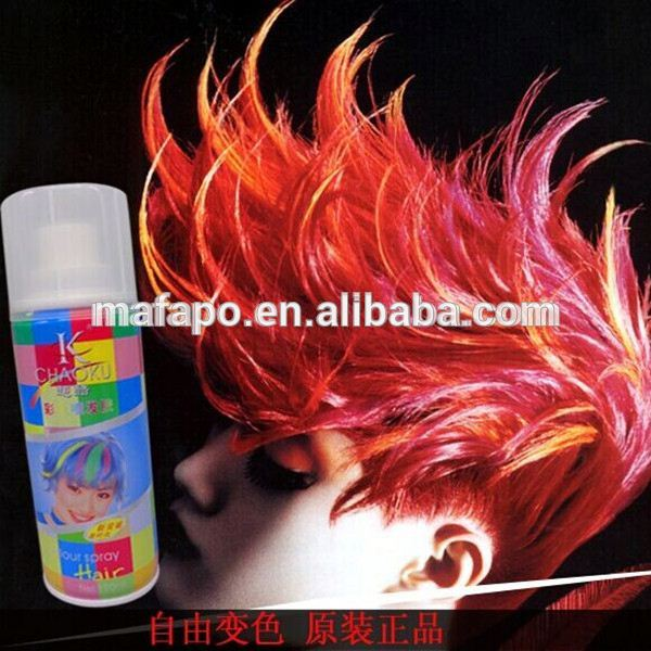 temporary Washable HAIR COLOUR GLITTER SPRAY