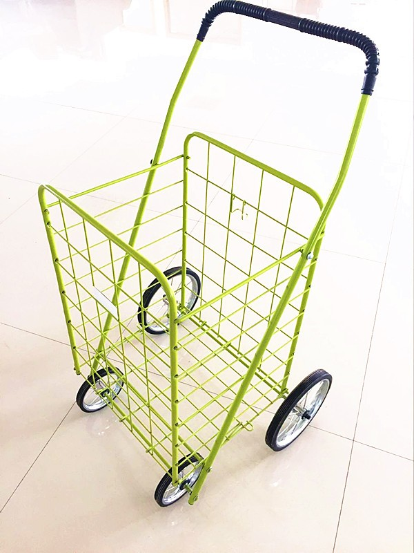 wholesale folding supermarket shopping cart laundry trolley shopping trolley smart cart
