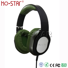 China Stylish Private Label Super Bass Noise Isolation DJ Headphone with Detachable Braid Cable