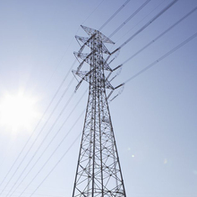 Transmission Electric Power Angle Steel Tower
