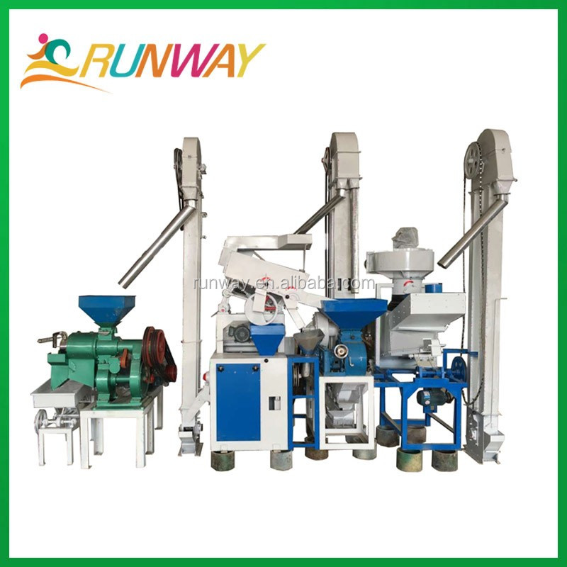 Combined parboiled rice mill rice mill machinery price