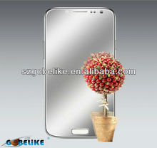 2013 new products! for Samsung Galaxy S4 lifelike mirror screen protector