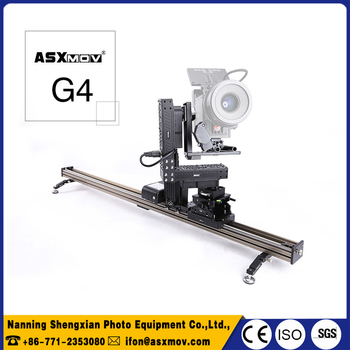 dslr camera motorized slider G4s dsrl camera dolly track slider with wireless controller