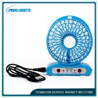 H0T057 stand rechargeable fan