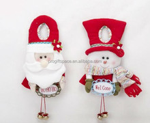 2017 hot sale tree ornaments wholesale handmade felt santa claus/snowman craft decoration trendy Christmas gifts - OEM welcomed
