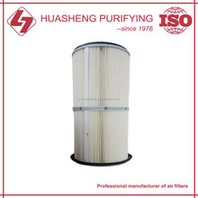 Polyester cartridge air filter industrial dust collector filter
