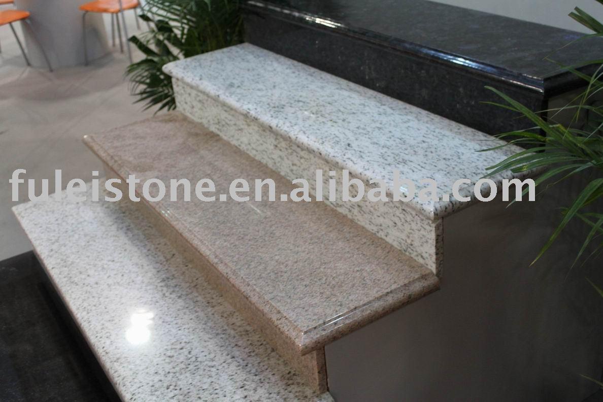 Piedra natural de granito paso escaleras granito for Piedra de granito natural
