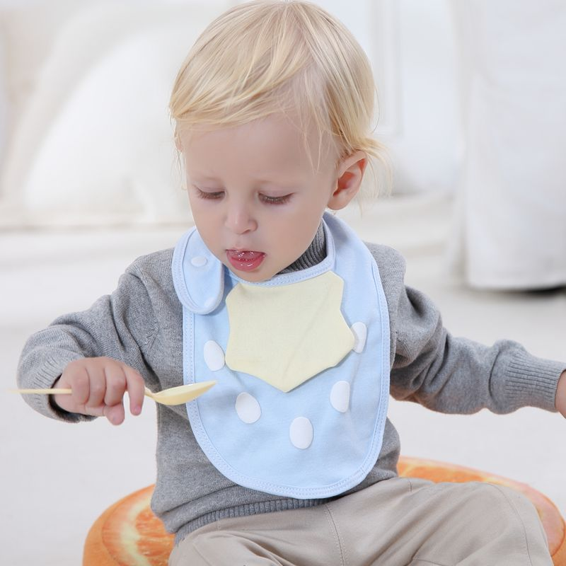 Baby Bibs OEM Service Supply Type Baby Bandana Bibs 100% Cotton Bibs