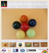 New design multi color scent paraffin wax 7hours metal candle Floating Candles for spa and wedding