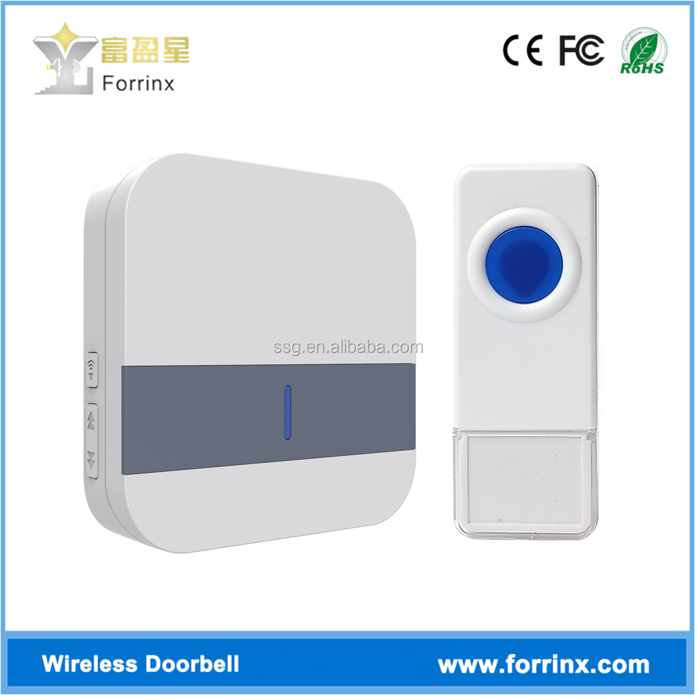Morden Forrinx B13 Ding Dong 52 Music Wireless Doorbell with Light with Waterproof Lighted Button