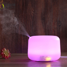 Newest electronic voting system aroma diffuser MIST humidifier with colorful led light