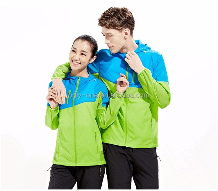 Custom Colorfull Waterproof And UV Protective Clothing For Outdoor Sport