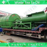 High-quality tire pyrolysis equipment with iso9001 3,since 1993