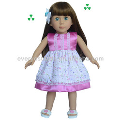 Decorative Fashion doll With Dress