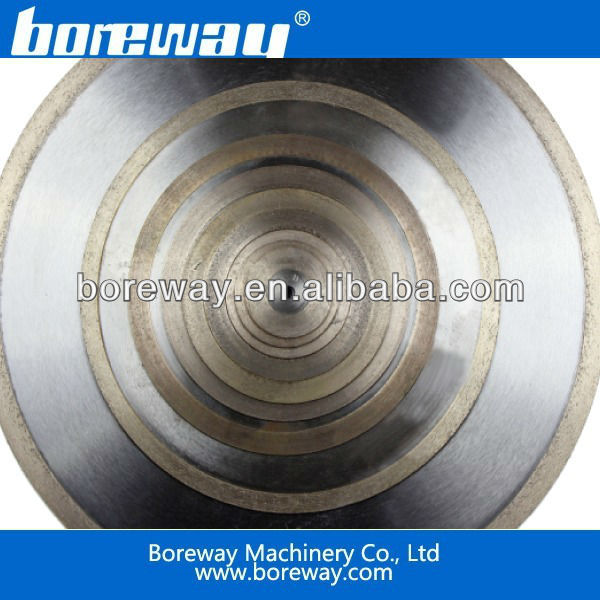 Sintered Ultra-Thin Continuous Rim Diamond Blade
