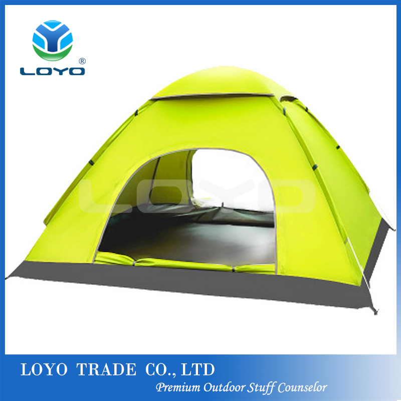 Custom Dome Durable Easy To Carry Camping Tents 4 Person