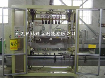 auto case packing line for snowmobile