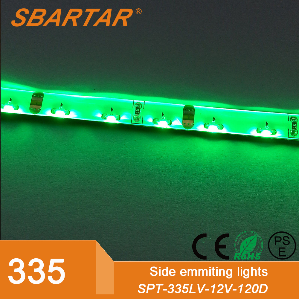 Side view 335 SMD led strip light, 120LEDs/Meter with CE RoHS Certificate