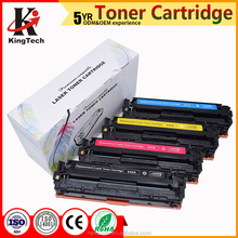 Compatible toner cartridge CB540A CB541A CB542A CB543A for HP Color LaserJet CP1215
