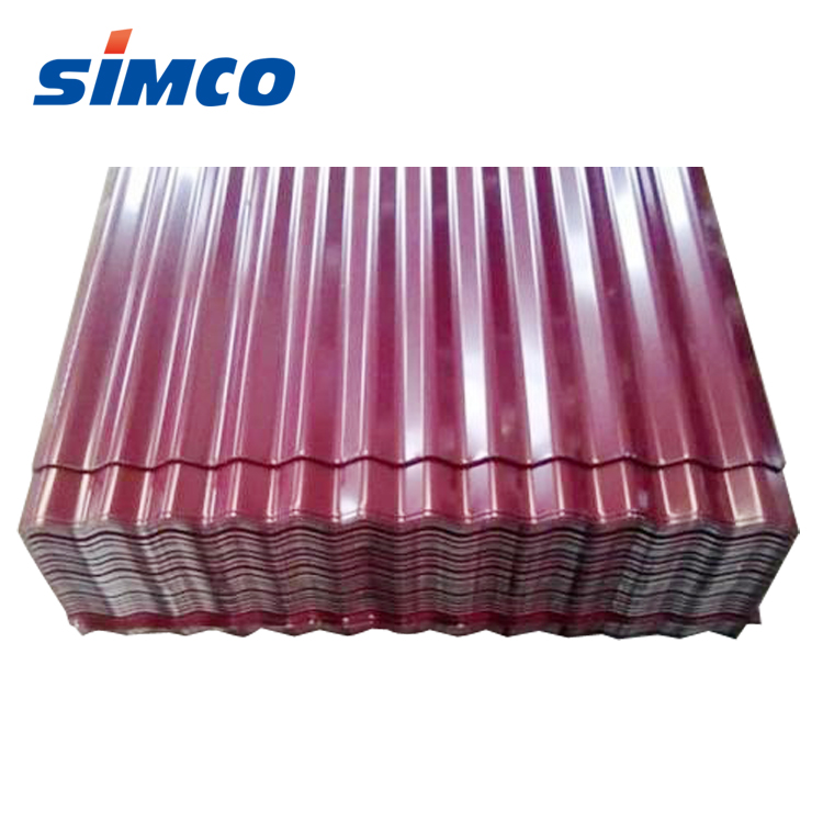 Prepainted GI / PPGI / PPGL corrugated metal roof <strong>steel</strong> for house roofing