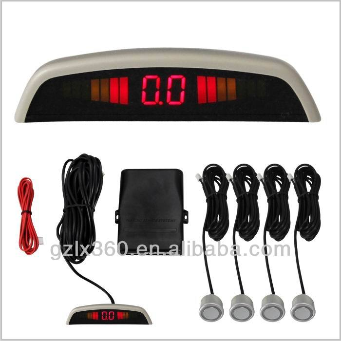 LED Display Car Parking Sensor Reverse Backup Radar System with 4 Sensors