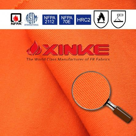 ASTM F1506 cotton/nylon 88/12 flame resistant fabrics for coverall