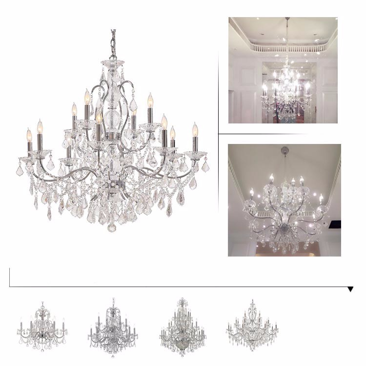 JANSOUL-Top Lighting Manufacturer luxury crystal Chandelier