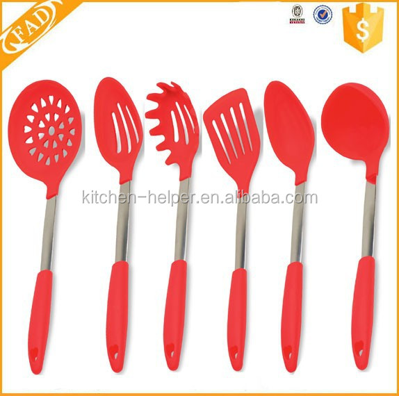 As Seen On TV Top Sell Kitchen Essential Tools Silicone Kitchen Cookware