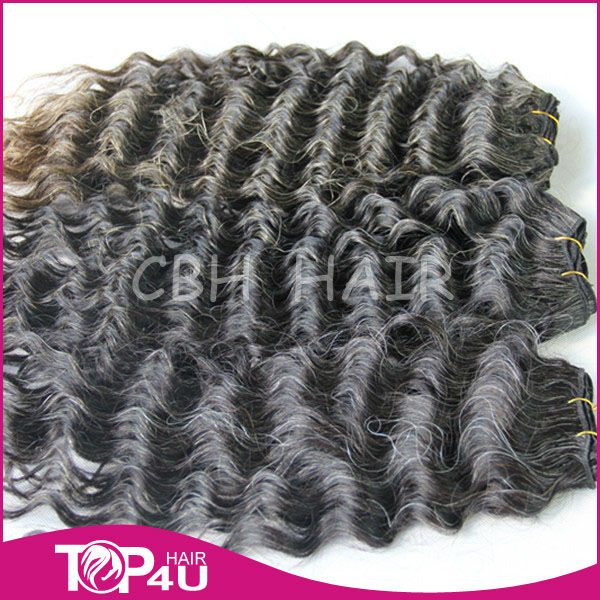 Hot sale 100% remy virgin Brazilian grey human hair weaving extensions