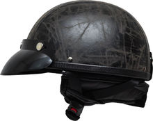 high quality half abs material shell motorcycle helmets
