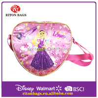 Cost Effective 2016 Heart Shape Kids Cheap Lunch Bag with Cartoon Barbie
