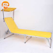 outdoor folding day sun beds with canopy