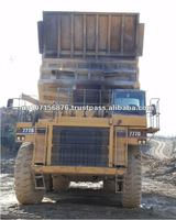 Off Road Used Dump Caterpillar Trucks