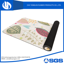 top quality SGS certificate eco non slip digital yoga mat manufacturer