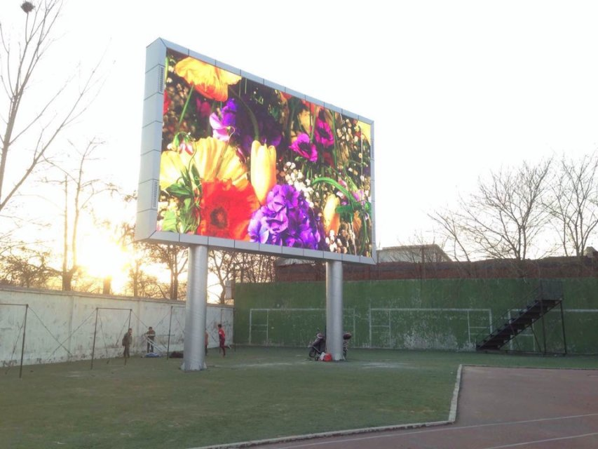 quick installation P16 outdoor advertising jumbo large stadium led display screen