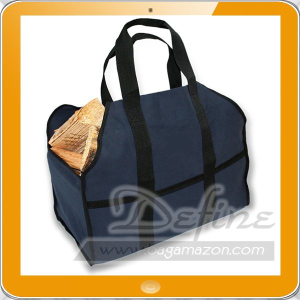 Heavy Duty Canvas Premium Firewood Log Carrier Tote Bag Best For Carrying Wood