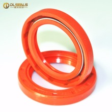 red silicone oil seal ring making machine with spring