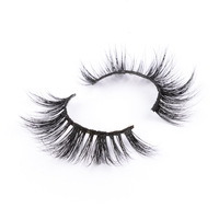 Private Label 5d Real Mink Hair Eyelashes Wholesale Quality Lashes Siberian Mink Lashes