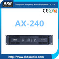 AX-240 audio professional amplifier /Power amplifier