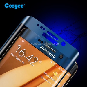 New Premium Glass Pack Mobile Screen Protector for Samsung Galaxy S6 edge Tempered Glass