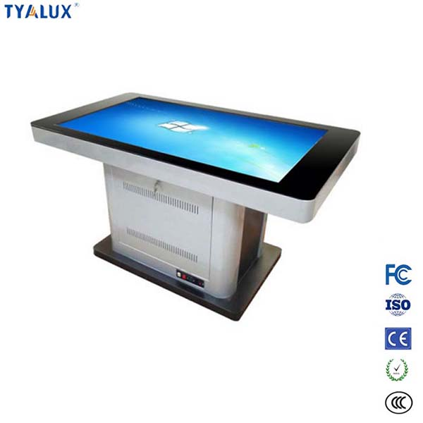 42 inch lcd touch screen table high definition advertising display monitor