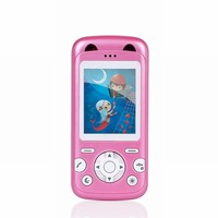 1.8' GPS real time tracking google map link SOS Mini Cartoon Kids Mobile Phone